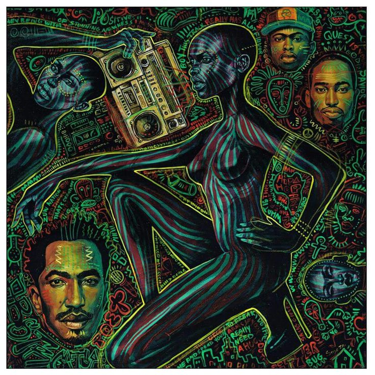 A Tribe Called Quest - On My God!