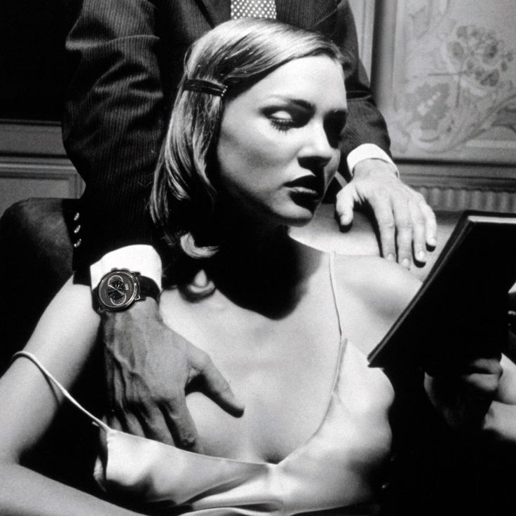 n A classic Helmut Newton photograph