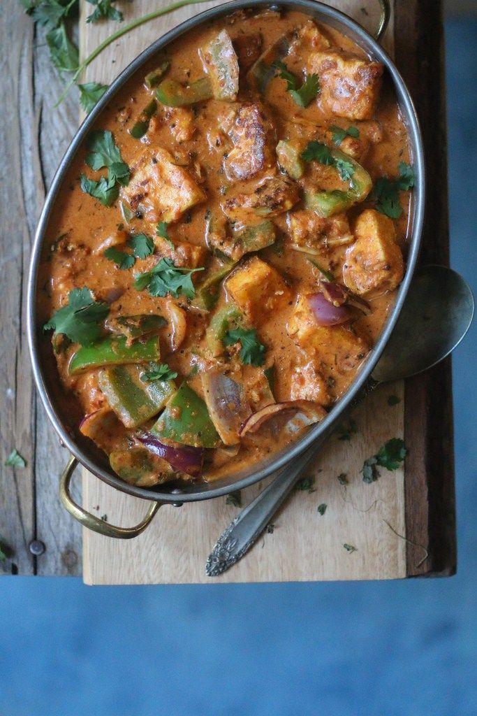 Paneer Tikka Masala- Easiest 30 minute Restaurant Style Curry |foodfashionparty| #paneertikka #indianfood