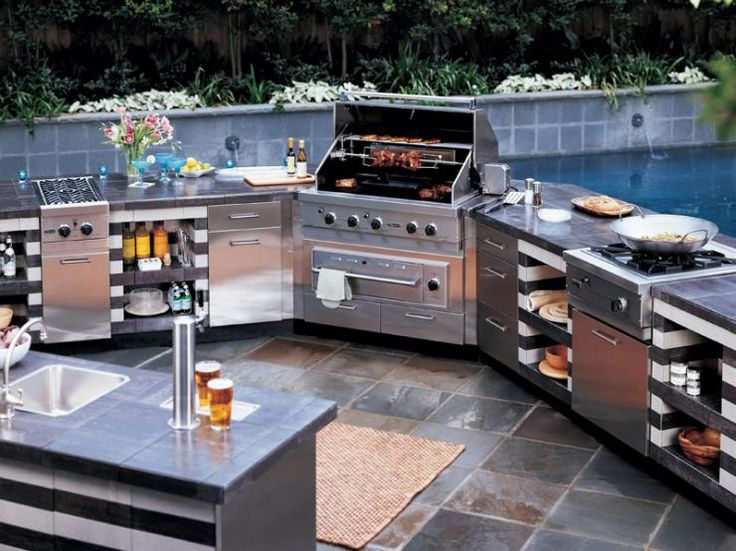 Lovely Outdoor Kitchens   Make Food Network Stars Jealous With Your New . Part 20