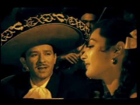 """Pedro Infante canta """"Cien años"""" de Rubén Fuentes y Alberto Cervantes en la película """"Cuidado con el amor"""" (1954)"""
