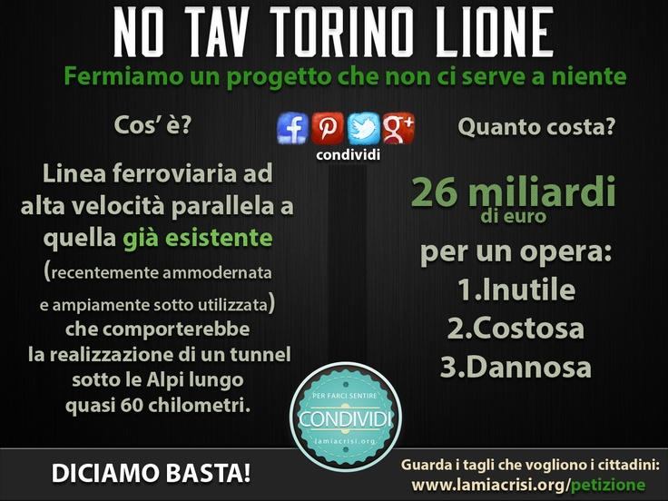 NO TAV TORINO LIONE