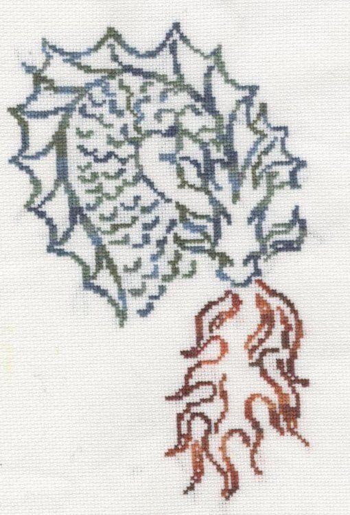 Dragon cross stitch pattern