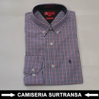 Camisa Cuadros Surtransa 1105