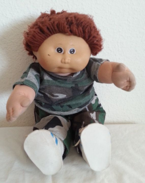 Cabbage Patch Kid Vintage 1980s Boy Bartholomew With By