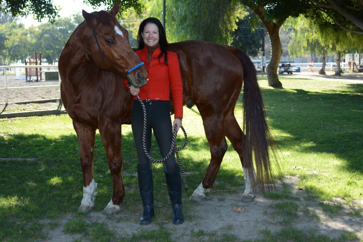 Me and my amazing quarter horse on New Years Day at The Paddock Riding Club, Los Angeles