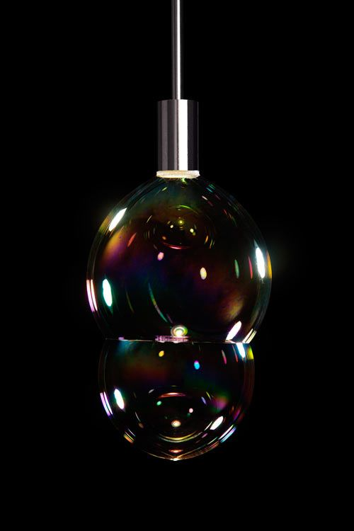 A Lamp That Blows Bubbles by Front Design Photo