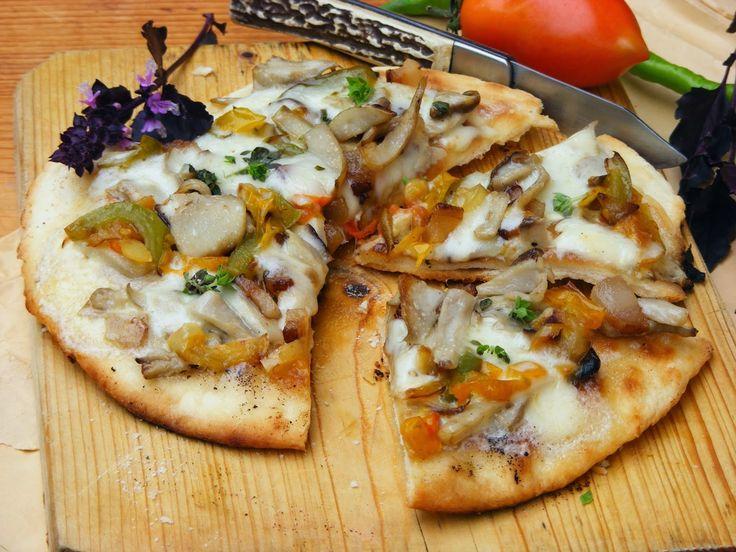 Makacska konyhája: Serpenyős pizza vargányával