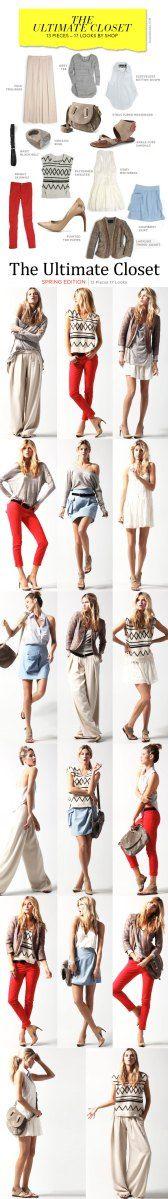 En quête de la garde-robe parfaite