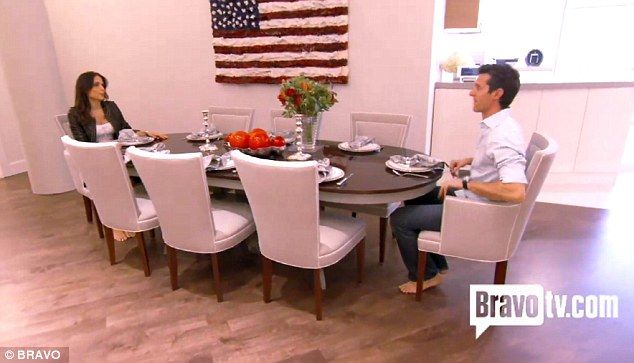 Bethenny Frankel and husband Jason Hoppy's New York apartment revealed after extensive renovations | Mail Online - American flag art