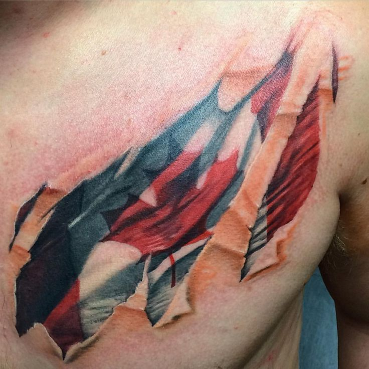 36 best body adornment images on pinterest tattoo photos for Canadian patriotic tattoos