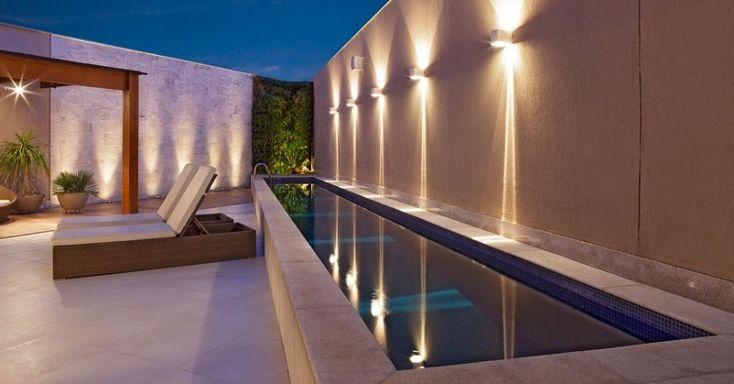 Decor Salteado - Blog de Decoração   Arquitetura   Construção   Paisagismo: Muros modernos e diferentes para área de lazer/quintal! Veja ótimas ideias para sua casa!