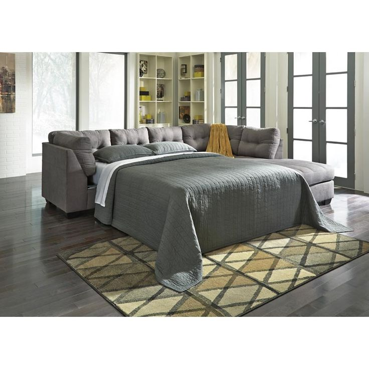 Superb Maier RAF Chaise Sleeper Sectional | Furniture And Mattress Outlet