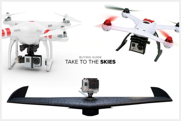 GoPro + Drone = Awesomeness. I really don't have a need for one of these, but I certainly could find one.