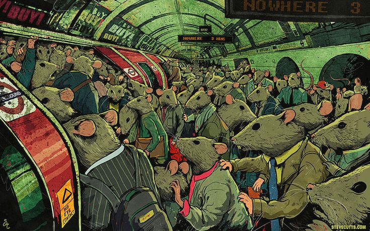 Steve Cutts Illustrations  of our world today - 2