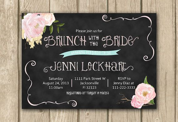 Day After Wedding Brunch Invitation: 25+ Best Ideas About Brunch Invitations On Pinterest