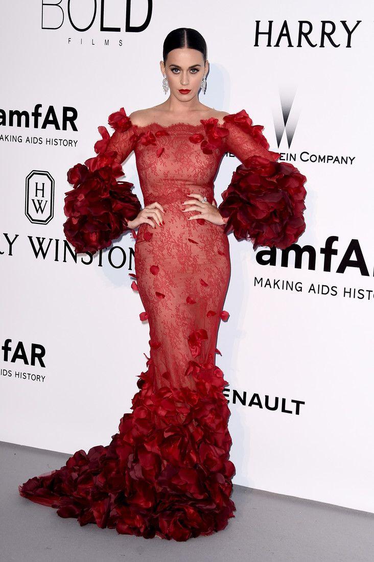 Сияние звезд и блеск драгоценностей на amfAR Gala: самая громкая вечеринка Канн : Кэти Перри / фото 2