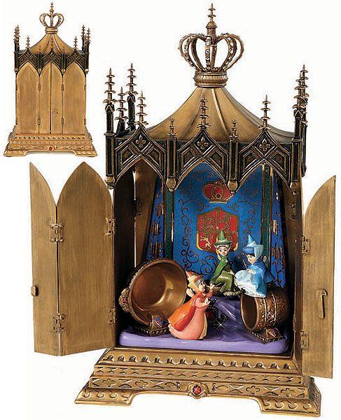 Sleeping Beauty - Jeweled Box - Clandestine Conclave - Walt Disney Classics Collection - World-Wide-Art.com