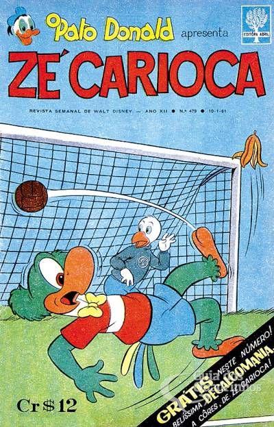 Zé Carioca n° 479 - Abril