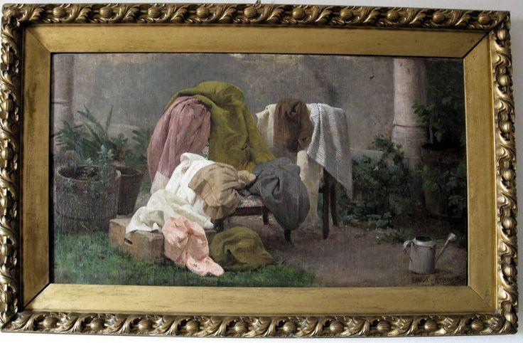 Panni, collezione privata, Raffaele Casnedi, pittore