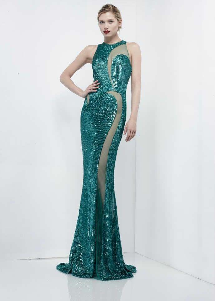 На фото модели демострируют коллекцию сезона осень 2012-2013 от Zuhair Murad Couture