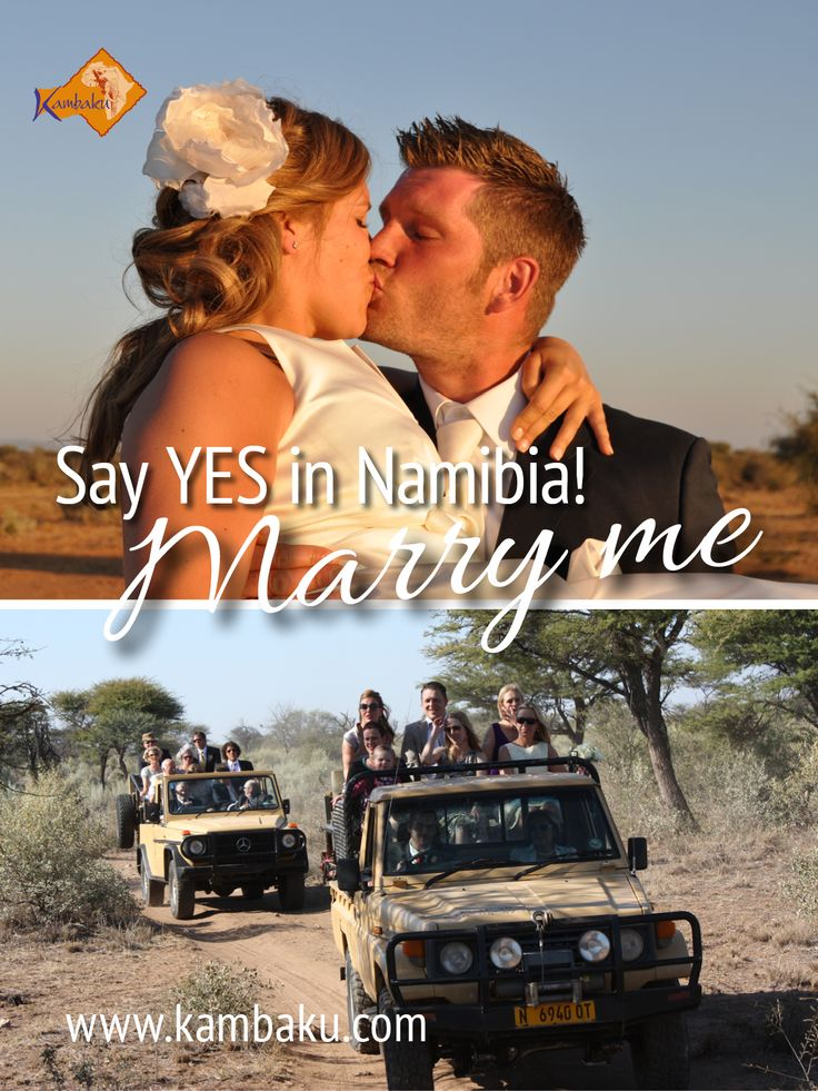 Your dreamlike wedding in Namibia! Say YES in the wild savannah and celebrate your special day with family and best friends at our private luxury lodge with 10 rooms only  #wedding #marriage #weddingparty #weddingdestination #namibia #kambaku #safari #holiday #africa #holidays #vacation #honeymoon #urlaub #flitterwochen #reiten #riding #resort #travel #journey