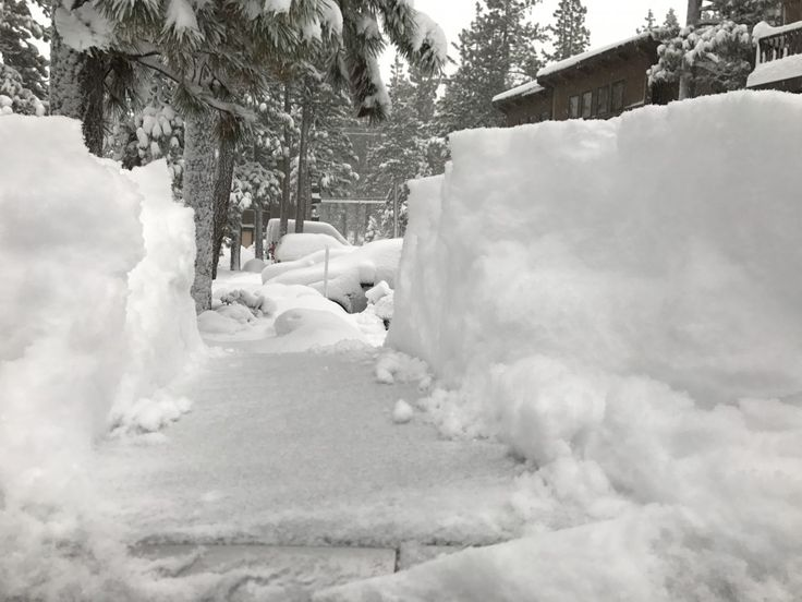 lake tahoe snow - March 2017 Lake Tahoe weather: After 650 inches of snow, more is coming