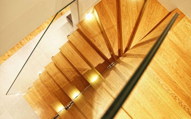 schody z desek podłogowych Dąb Arvade