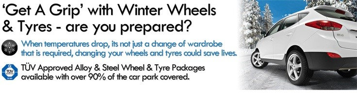 Winter Tyres & Winter Wheels - are you prepared for winter?