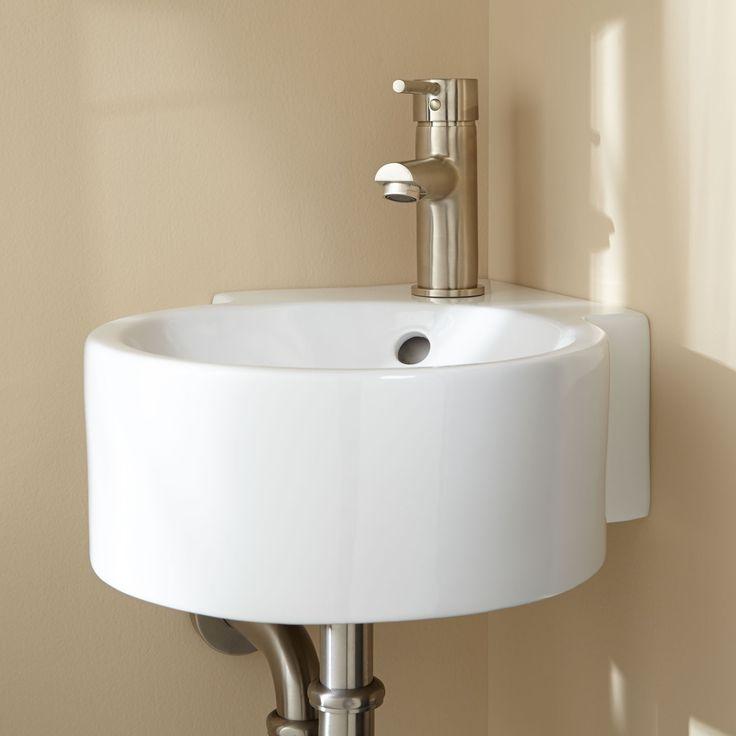 Kris Wall-Mount Corner Sink - Bathroom Sinks - Bathroom