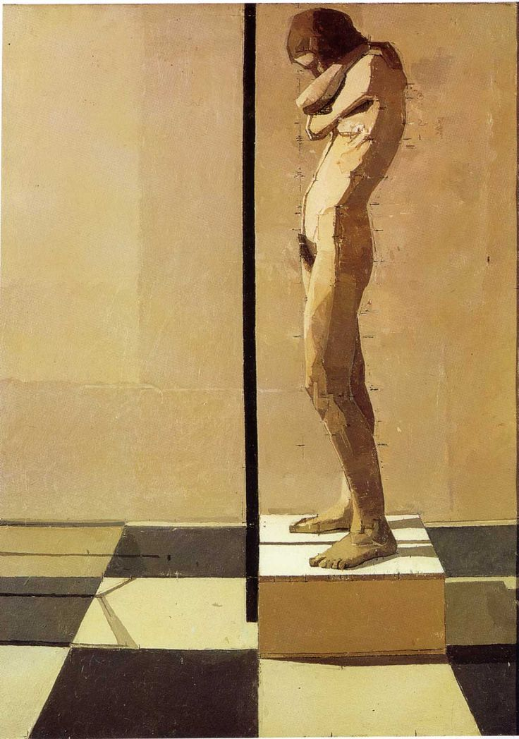 This is the painting that sent me off to art-school. My favorite artist: Euan Uglow / Snake