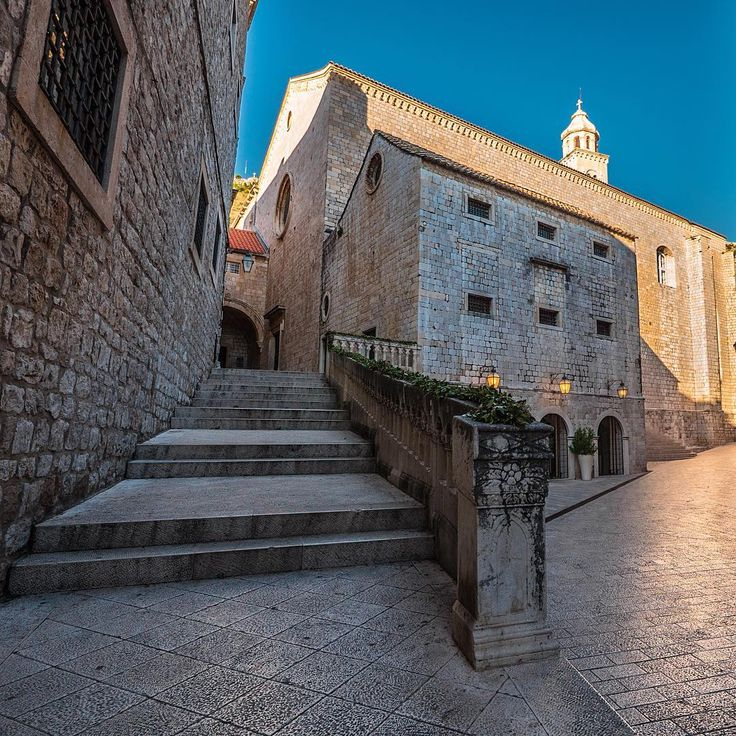 One of the many great places to see is St. Sebastian Church, Dubrovnik.