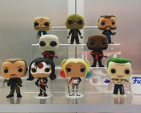 Funko Debuts Figures For Suicide Squad, Civil War And More At Toy Fair