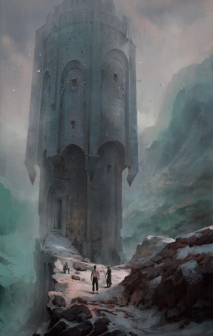 ArtStation - Sacrifice Tower, Pawel Hordyniak