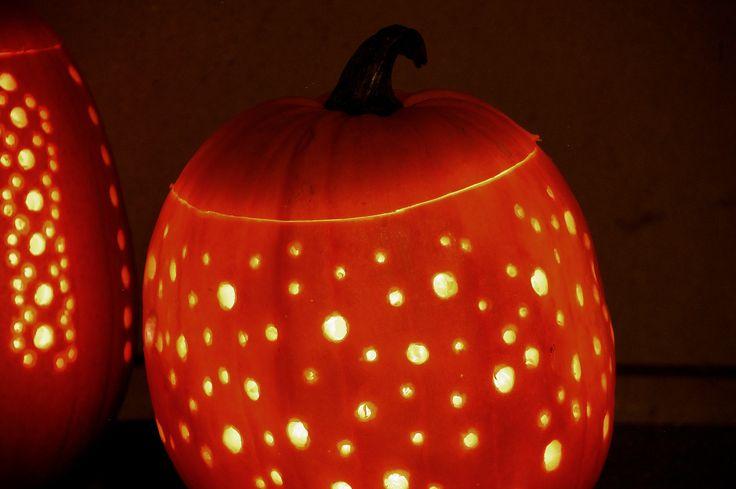 DIY Pumpkin drilled lanterns, Silvan Hacks by Anna Karnov