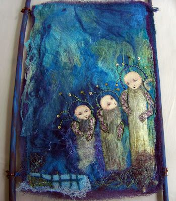 THE FABRIC OF MEDITATION - SARA LECHNER'S BLOG: The fairy tale of the 3 cocoons