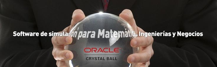 La Facultad de Matemáticas e Ingenierías y la Escuela de Negocios cuentan ahora con el software Crystallball, una suite de Oracle basada en hojas de cálculo de Microfoft Excel que permite la construcción de modelos predictivos, pronósticos y optimización de procesos con base en el modelo de simulación de MonteCarlo. Más información haciendo clic en el pin.