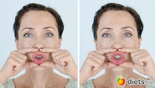 """Укрепляем круговую мышцу рта: упражнение """"Хоботок"""""""