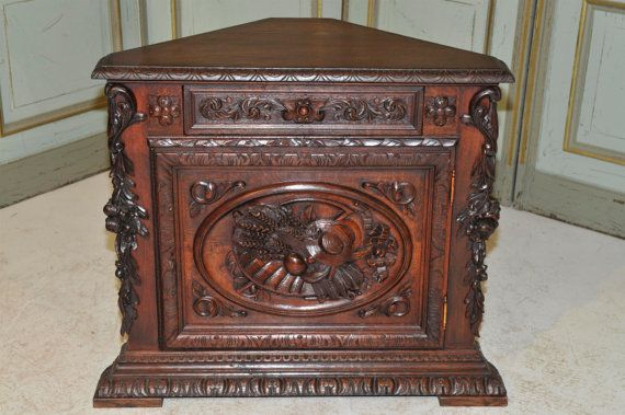 antique-french-oak-corner-cabinet