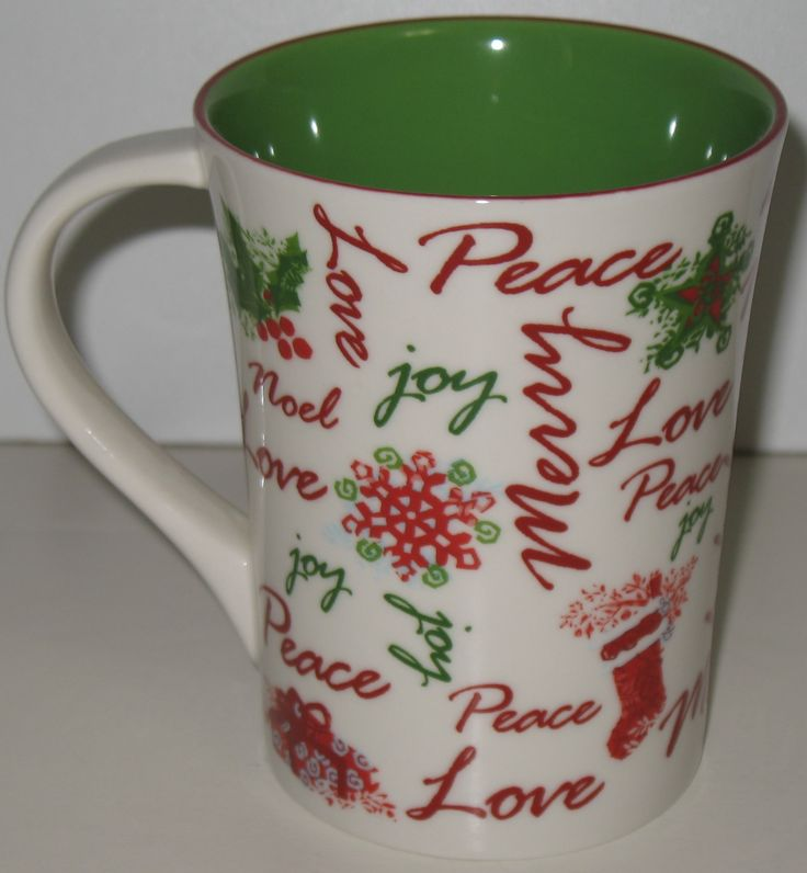 Starbucks Christmas coffee mug. I love them all...find a page full of them by clicking on this picture and be sure to repin this mug if you love Starbucks Christmas mugs, too! #starbucksmugs #xmas