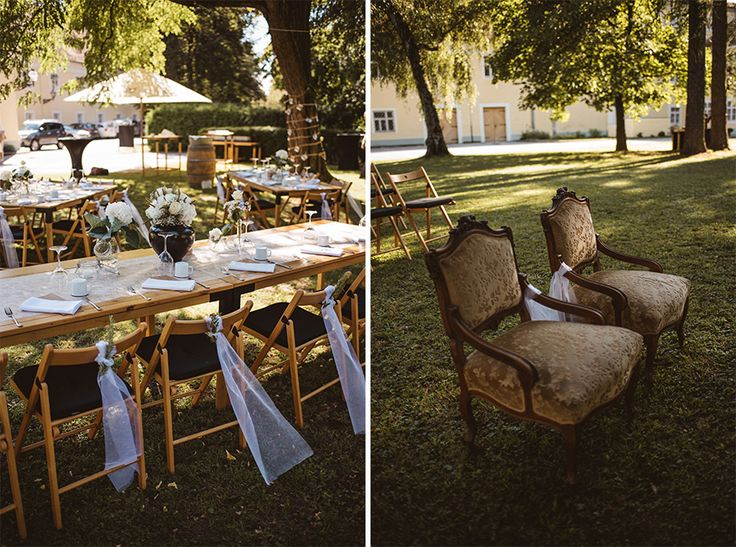 Modern vs. Antique chairs