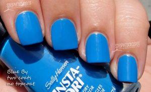 """Sally Hansen's """"Blue By"""""""