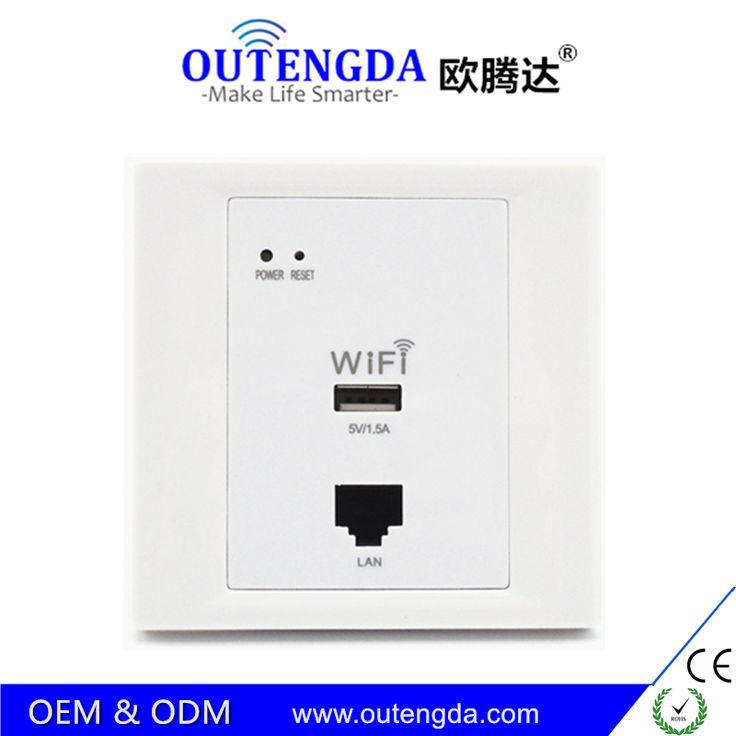 Wireless WiFi Router AP Roteador High-quality in Wall Socket Wi-Fi Access Point 2.4 Ghz