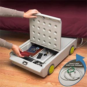Lock & Roll Portable Personal Safe - great for dorm room!