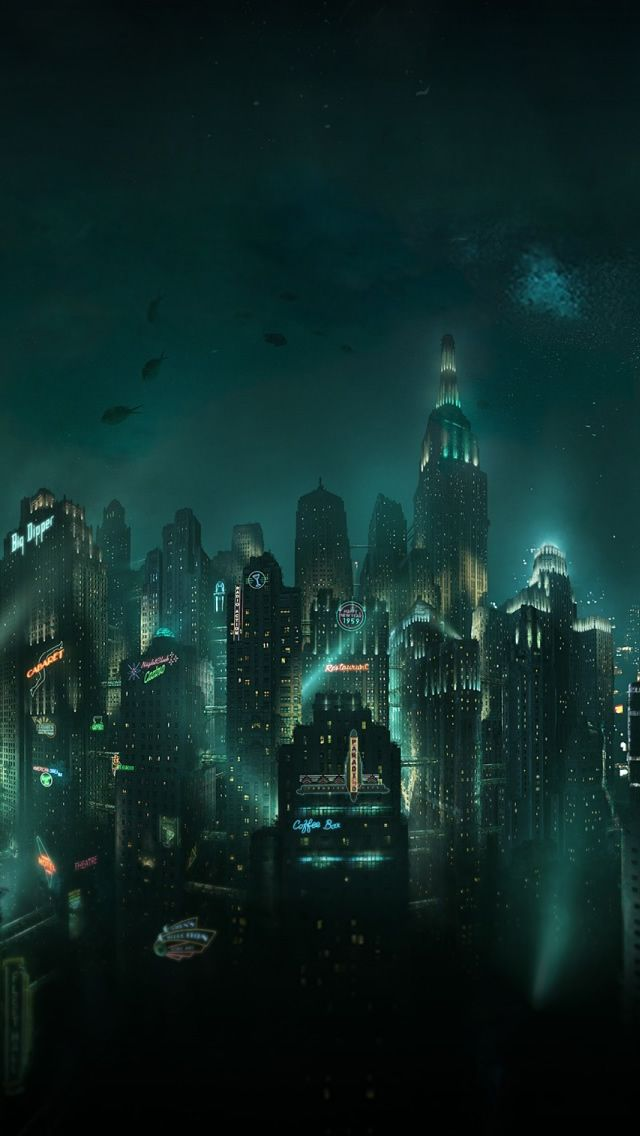 Bioshock Rapture iPhone 5 Wallpaper