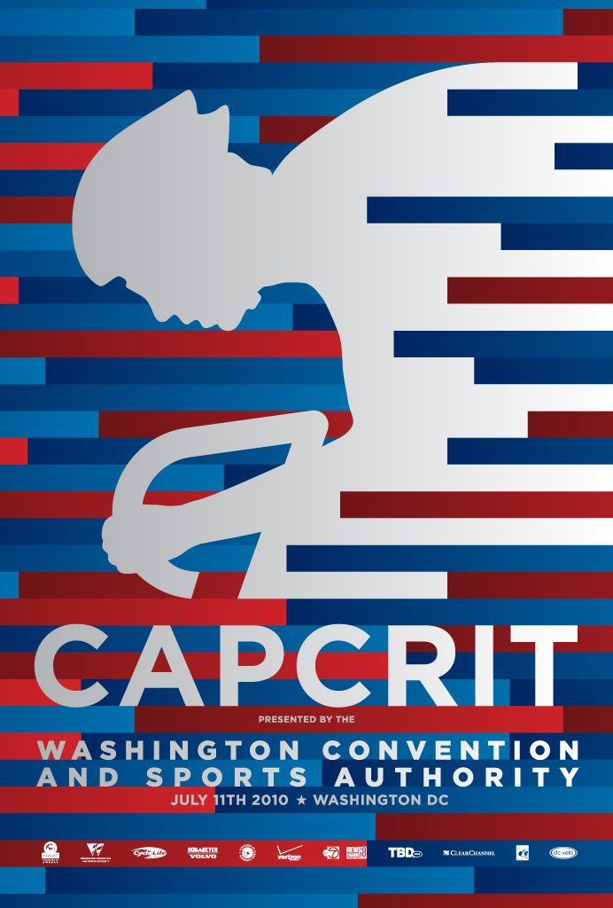 Capital Criterium Poster - entry in the 2011 Graphis Poster Annual. Designer: Masood Bukhari at Diligent Rocket