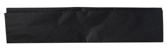 Plain Black Tissue Paper Country Primitive Gift Wrapping Supplies