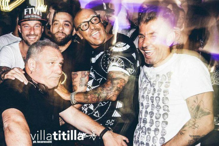 Marco, DjFrancesco, Salvatore Angelucci, Ralf e il popolo del Titilla
