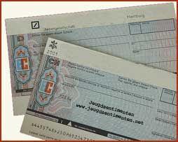 Things of the past (70's,80's,90's) - Dingen van vroeger (70's,80's,90's) ( Eurocheque voor op vakantie buiten Nederland )