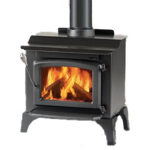 Rustic Freestanding Stoves by PlumbersStock